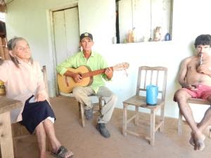 Aunt Ramulda, Ismael, and Eduardo