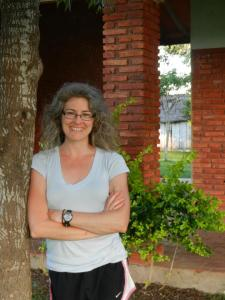 Me in my front yard - happiness in Paraguay