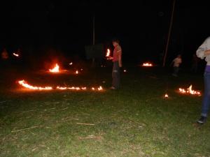 San Juan Festival of Fire - Flaming Soccer Balls! June 2013