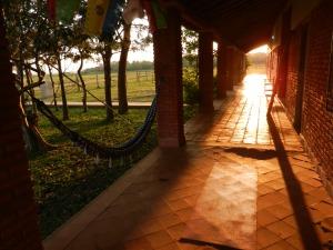 Sunrise yoga on the patio. Nothing finer.