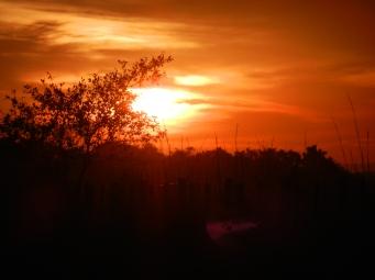 Paraguayan sunset