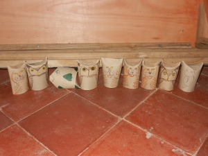Crafts -toilet roll animals 003