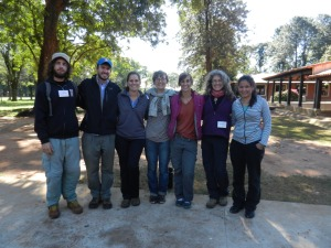 The amazing volunteers who helped with this project (and the woman on the right is a volunteer's community contact)