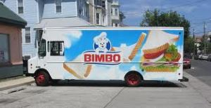 Bimbo Bakeries delivery truck. Ours was more the 'off road' version for PY.