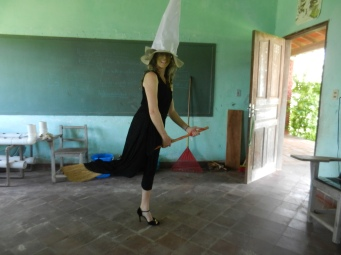 Bruja Wendia ready for take-off