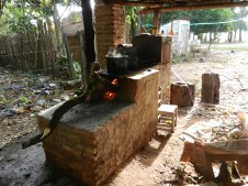 Fogons are brick cookstoves, popular in PY