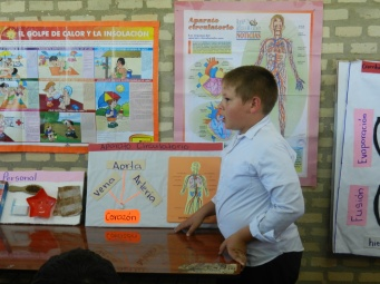 Projects from end-of-school-year expo