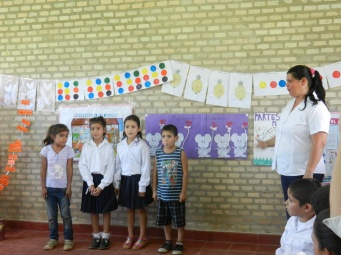 End-of-school-year expo - first graders