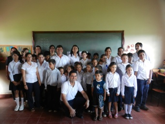 End-of-school-year expo with local teachers and students